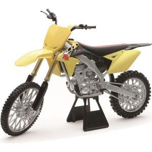 VOITURE - CAMION NEWRAY 49473 Moto Cross SUZUKI RMZ 450 Miniature -