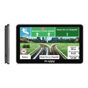 GPS AUTO MAPPY Maxi E738 Navigateur GPS 7'' Carte à Vie