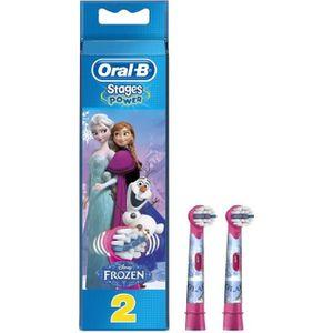 BROSSETTE ORAL B Tête de Brosse à dents La Reine des Neiges