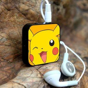 MP3 ENFANT 1PCS Pokemon Mini casque de MP3 portable sport exé