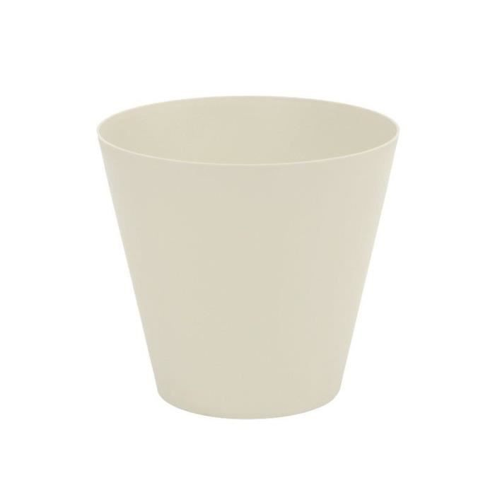 Plastiken cône 26 cm collection tes ecru