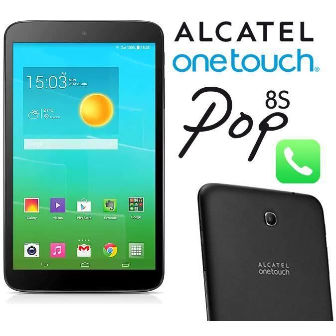 alcatel one touch pop 8s p350x tablet 8 8gb wi fi 4g. Black Bedroom Furniture Sets. Home Design Ideas