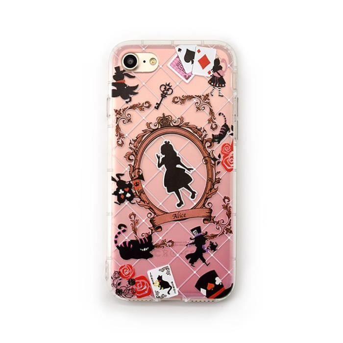 coque alice iphone 8