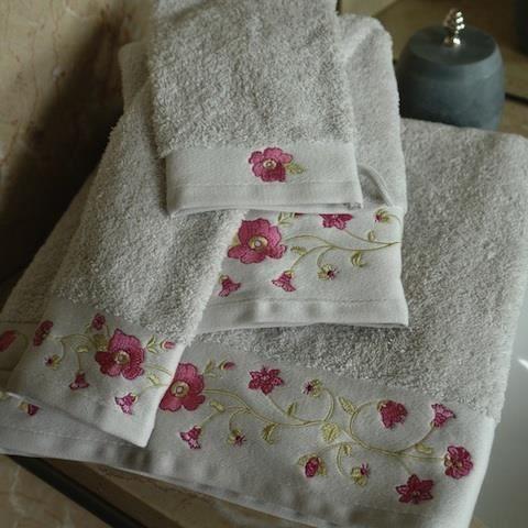 drap de bain bouchara heloise achat vente serviettes de bain cdiscount. Black Bedroom Furniture Sets. Home Design Ideas
