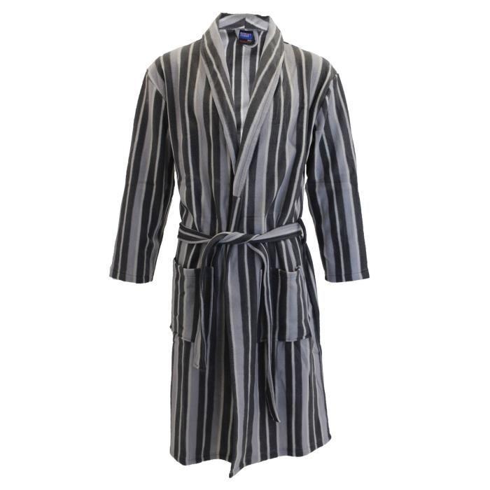 robe de chambre homme polaire achat vente robe de chambre homme polaire pas cher cdiscount. Black Bedroom Furniture Sets. Home Design Ideas