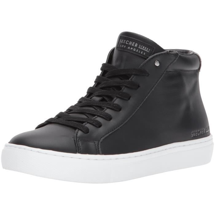 Top Fashion Street 2 39 GTUX0 Sneaker leather Side Taille Mid 1 vdIBwqIxt