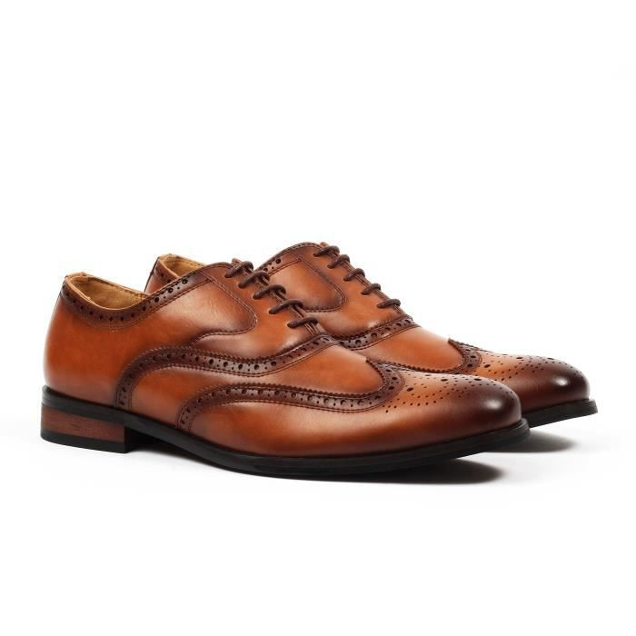 Chaussures Aldo Oxford Wingtip Brogue Robe E4OHF Taille-43