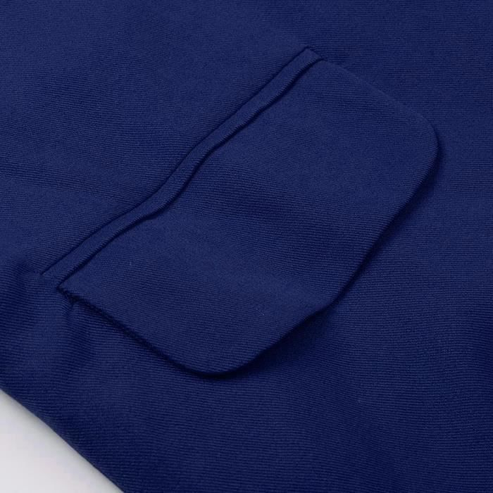 Ouvert Vestes Féminine Avant Manteau Longues À yunsoel10311 Manches Couleur Solide Mode Cardigans 478AqAz