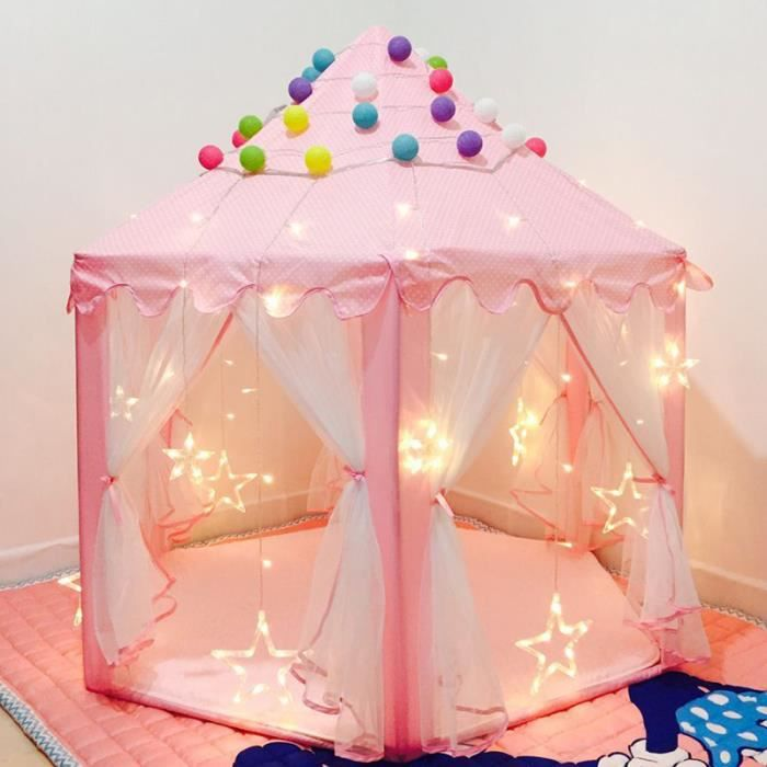 tente de jeu pour enfants ch teau de princesse tente de. Black Bedroom Furniture Sets. Home Design Ideas