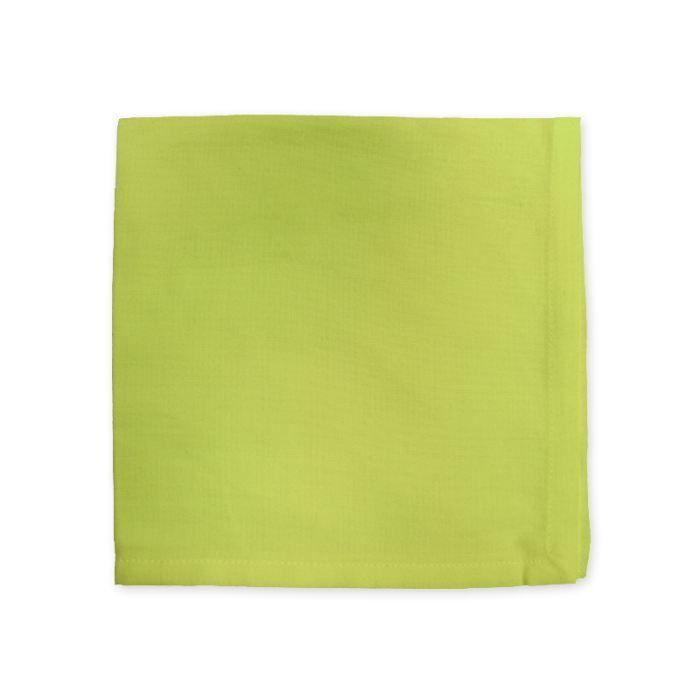 Serviette de table yuco anis achat vente serviette de - Presentation serviette de table ...