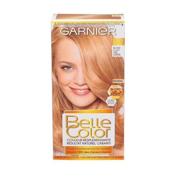 Couleur de cheveux blanc claire