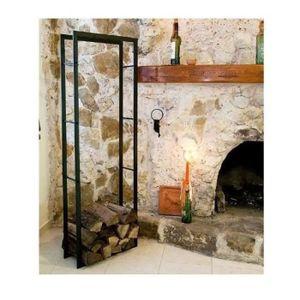 rangement bois de chauffage achat vente rangement bois de chauffage pas cher cdiscount. Black Bedroom Furniture Sets. Home Design Ideas