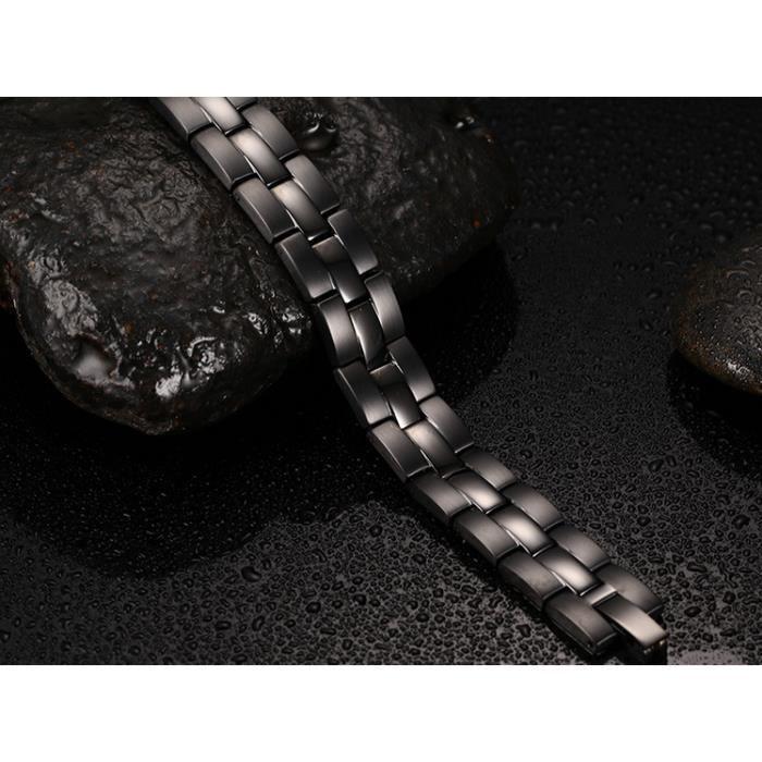 Bracelet magnétique black ions 13,3 cm