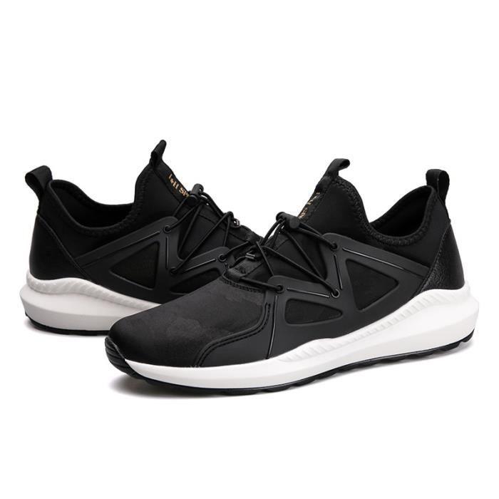 Baskets Homme Chaussure hiver Jogging Sport Ultra Léger Respirant Chaussures BLLT-XZ228Noir39