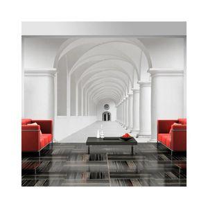 papier peint couloir d 39 incertitude dimension 350x245 achat vente papier peint papier. Black Bedroom Furniture Sets. Home Design Ideas