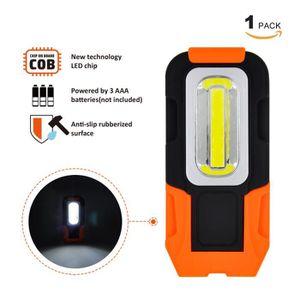 LAMPE DE POCHE Lampe de Torche LED Lampe Baladeuse a 3W COB LED B