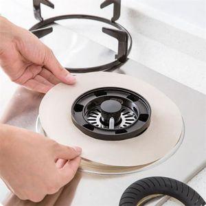 POÊLE À GAZ 4pcs Cuisinière à gaz protecteurs réutilisables St