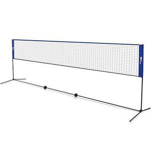 FILET DE BADMINTON Filet de Badminton Réglable en Hauteur Filet Porta