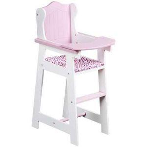chaise haute en bois poupee achat vente jeux et jouets pas chers. Black Bedroom Furniture Sets. Home Design Ideas