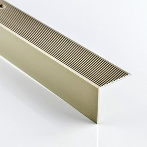 SEUIL DE PORTE Aluminium profil d'escalier L 1000 mm couleur: cha
