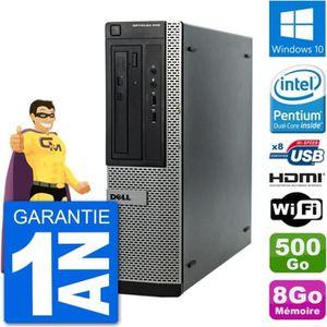 ORDI BUREAU RECONDITIONNÉ PC Dell OptiPlex 390 DT G630 RAM 8Go Disque Dur 50