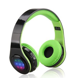 CASQUE - ÉCOUTEURS EXCELVAN Casque LED Bluetooth sans Fil Réglables a