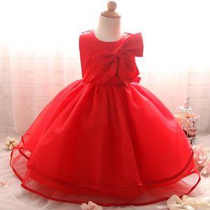 Robe enfant élégante de Cérémonie Mariage Soirée Cocktail Demoiselle  D honneur et baptème Robe de Princesse vetement enfant pour Rouge Rouge -  Achat   Vente ... c8f3f228077