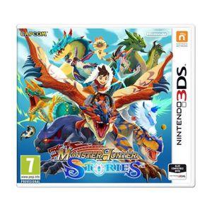 JEU 3DS Monster Hunter Stories Jeu 3DS + 1 Porte Clés