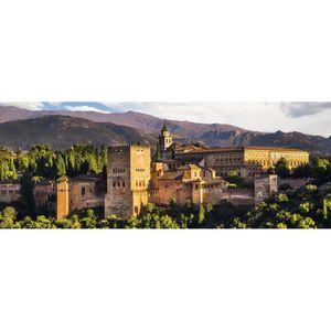 PUZZLE Puzzle 1000 pièces panoramique : Alhambra de Grena