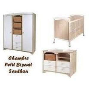 Chambre complete sauthon petit biscuit achat vente for Chambre bebe sauthon