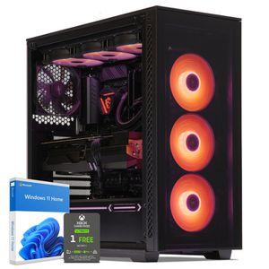 UNITÉ CENTRALE  PC Gamer, AMD Ryzen 7, RX Vega 64, 250 Go SSD, 2 T