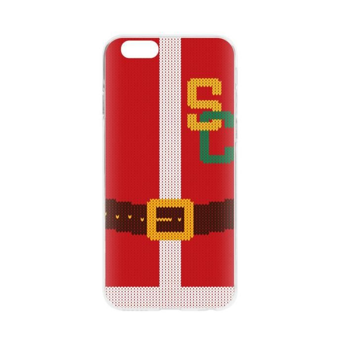 FLAVR Coque Case Ugly Xmas Sweater College Santa- Iphone 6 / 6s