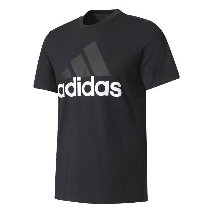 ADIDAS ORIGINALS T-Shirt Manches Courtes Homme Noir