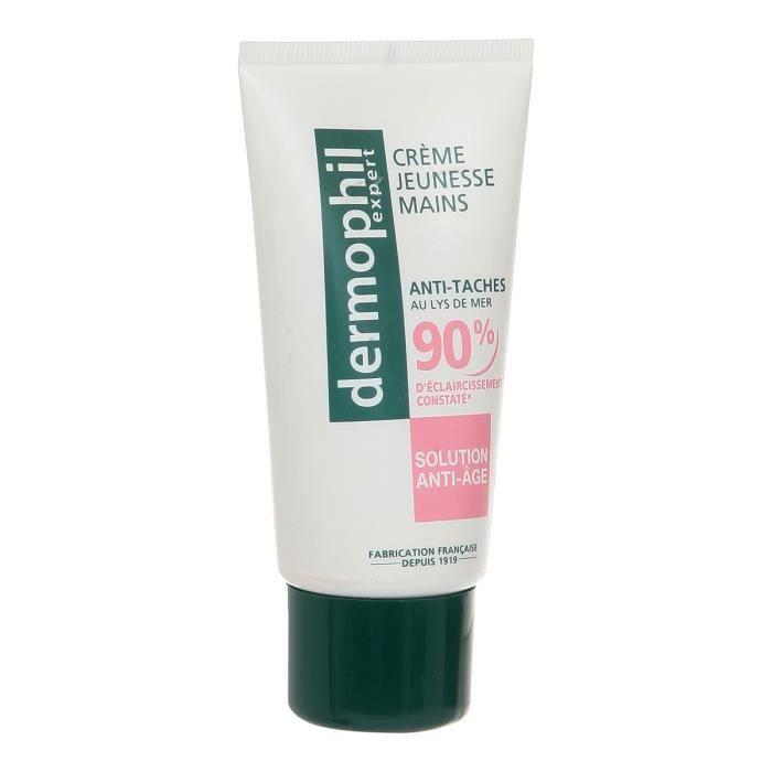 DERMOPHILE Crème mains anti-taches anti-âge - 75mlSOIN DES MAINS - SOIN DES PIEDS - GOMMAGE PIED - BAIN DE PIED