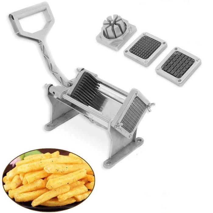 PORTE FRUITS - COUPE  Coupe frite, Quatre Lames de Coupe Différentes pou