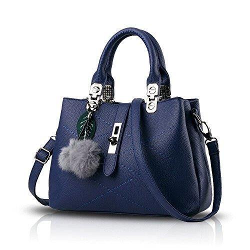 Nouveau sac à main Tide simple avec sac diagonale épaule boule cheveux Sacs à main Porte-monnaie HSPCW