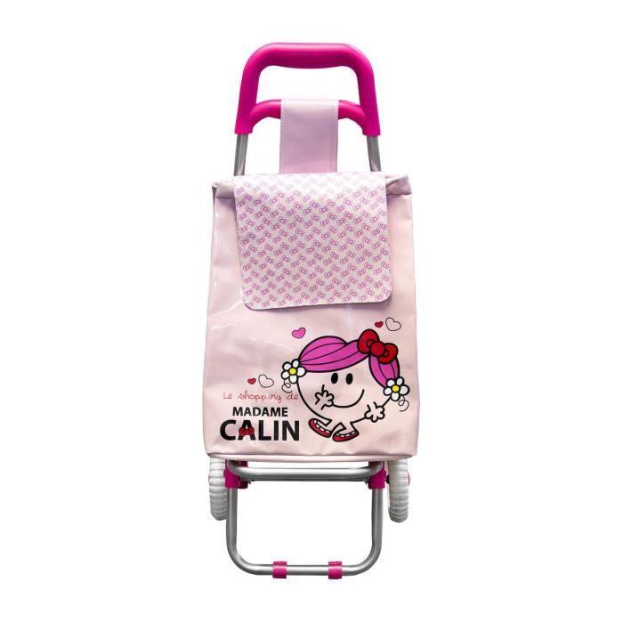chariot de course pour enfant rose monsieur madame achat vente chariot de march. Black Bedroom Furniture Sets. Home Design Ideas