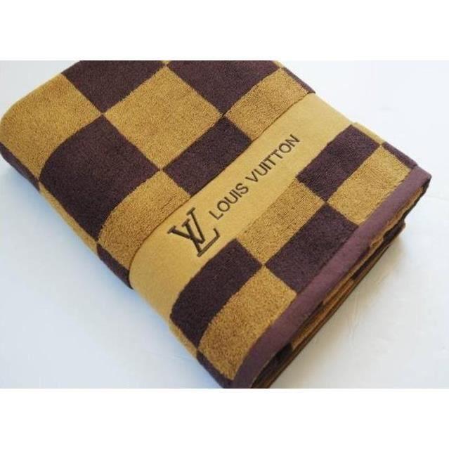 linge de lit louis vuitton Serviette De Bain Louis Vuitton Neuve   Achat / Vente serviettes  linge de lit louis vuitton