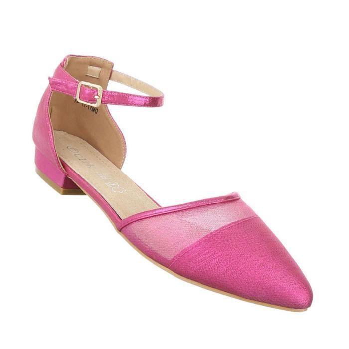 Femme escarpin chaussures Élégant High Heels confort rose 44 PxeNPT