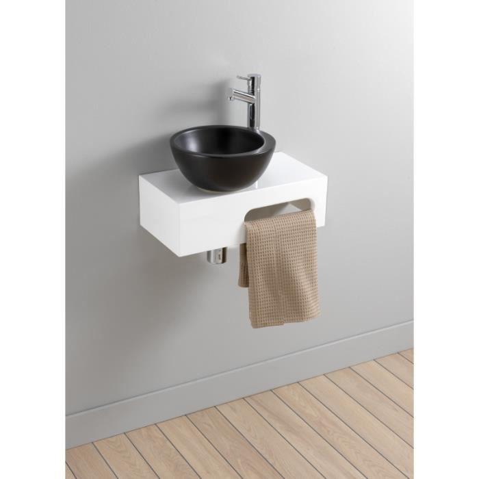 pack lave main venize blanc avec lave main noir achat. Black Bedroom Furniture Sets. Home Design Ideas