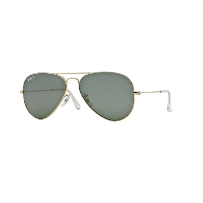 Lunettes de soleil Ray-Ban HommeAVIATOR LARGE METAL RB3025 001/58 Or58 x 50,1
