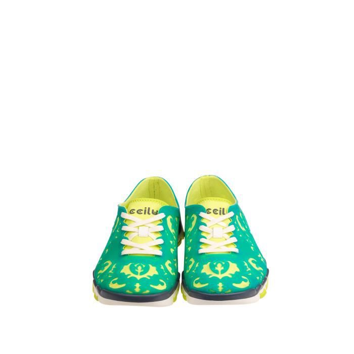 Ccilu Sneakers turquoise Femme
