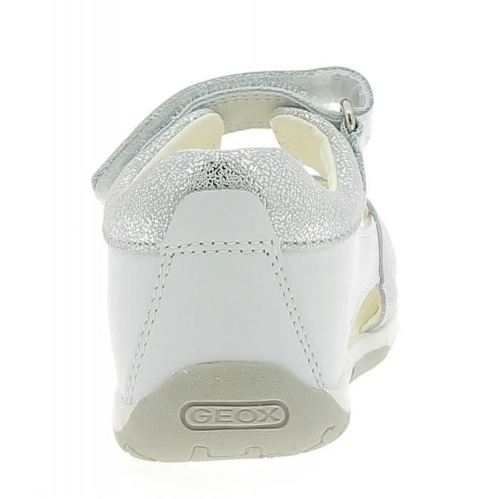 Geox - Geox Tapuz Sandales Petite Fille Argent