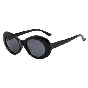 8706cdce5d Retro Vintage Clout lunettes soleil unisexe Rapper ovale Shades Lunettes  grunge WY121207314