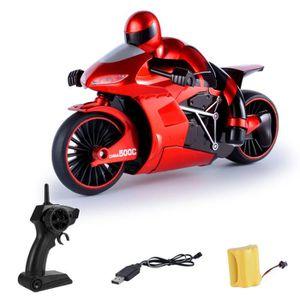 MOTO - SCOOTER Enfants dérive à grande vitesse Moto RC jouet de m