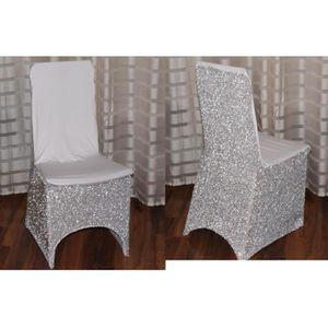 Housse de chaise mariage achat vente housse de chaise - Housse de chaise lycra pas cher ...