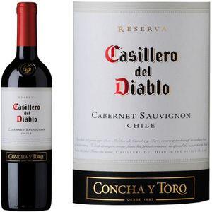 VIN ROUGE Casillero del Diablo Cabernet Sauvignon - Vin roug