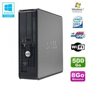 UNITÉ CENTRALE  PC DELL Optiplex 780 Sff Core 2 Duo E8400 3Ghz 8Go