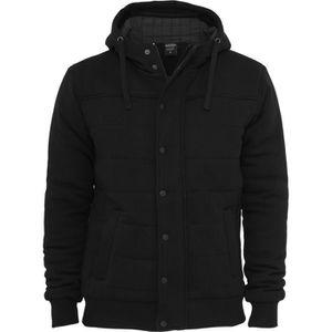 BLOUSON Urban Classics - SWEAT Veste d'hiver noir - 3XL