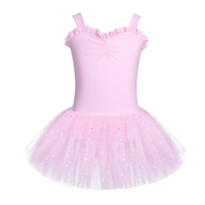 JUPETTE DE DANSE Ballet Robe de danse Enfant Fille - Sans Manches J d46e039e0b5